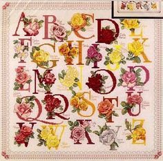 Flashup---PAGE 1 OF 29---ROSE ALPHABET