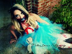 Another alice in wonderland shot! This was another one of my favorites! Look up lexi miller for more on her makeup skills :))