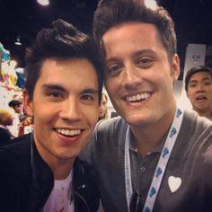 Sam Tsui and Nick Pitera VidCon 2015
