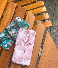 Rose + Teal Marble Case for iPhone 6/6s & 6/6s Plus from Elemental Cases
