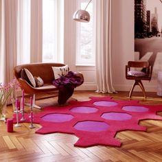 Gros gros coup de coeur !  Concept complet de dalles de tapis design auto-adhésive Vorwerk Octagon