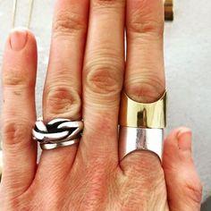 GAGARIN // Silver // Gold Plated // Katrine Nexø Jewellery