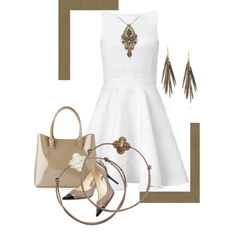 """""""simpletaupe"""" by kloeyblue on Polyvore"""