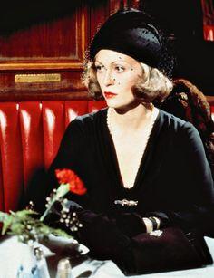 "Faye Dunaway in ""Chinatown."" (1974)"