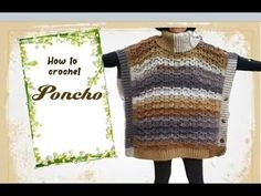 How to crochet Poncho - YouTube