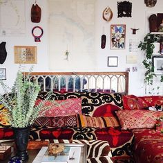THE most incredible bohemian home.  A few more sneak peeks on my instagram:  @Sue Moore Adm Seal
