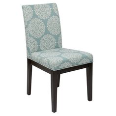 Parsons Versailles Medallion Upholstered Armless Chair | Overstock™ Shopping - Great Deals on Office Star Products Dining Chairs