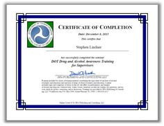 42 best dot reasonable suspicion training and drug and alcohol