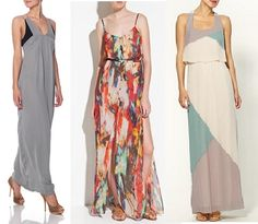 Last years Maxi Dress was a huge hit and this is true of this year as well. The fashionistas love this retro trend, and who wouldn't? Its floaty pretty silhouette is not only easy but can also hide some of those flaws other style dresses love to expose. Closet Upgrade insists that every girl have at least one in their summer wardrobe. If not, check out these 3 gorgeous maxi dresses under 100$ @ VERO MODA, ZARA & TINLEY ROAD.