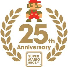 Old fanmade anniversary logo, based on the Mario one. Super Mario All Stars, Super Mario Bros, Retro Videos, Retro Video Games, Logo Aniversario, 8 Year Anniversary, Princess Daisy, Japan Logo, Branding
