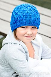 Sea Beanie pattern by Elena Nodel Toddler - large adult