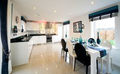 Taylor Wimpey - New Berry Vale Kitchen / Dining Room New Homes For Sale, Property For Sale, Taylor Wimpey, Kitchen Dining, Dining Room, Berry, Kitchen Ideas, Home And Family, Home Improvement