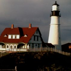 Portland Head Lighthouse ~     Cape Elizabeth, Maine