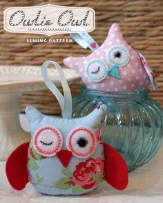 Owlie Owl - PDF Sewing PATTERN