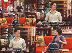 Wizards of Waverly place lol