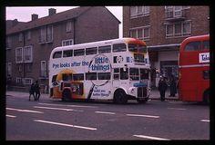 London T/port Routemaster RM WLT 682 original Bus Slide   eBay
