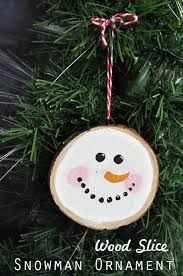 Do You Wanna Build a Snowman (Ornament)- Easy simple ornament that is perfect for groups or family craft time. Snowman Christmas Ornaments, Easy Christmas Crafts, Christmas Wood, Christmas Projects, Simple Christmas, Kids Christmas, Christmas Decorations, Diy Snowman, Christmas Wreaths