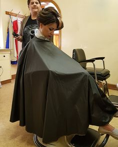 Long Hair Cuts, Long Hair Styles, Longer Hair, Barbers, Capes, Haircuts, Black, Women, Hair Style