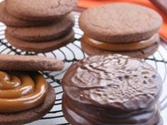 Great Recetas | Alfajores de chocolate | Utilisima.com..., ,