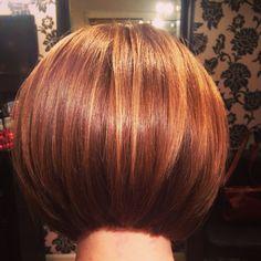 Love a bob with a sharpe line HAIR by Martine