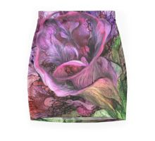Wild Calla pencil skirt featuring the art of Carol Cavalaris.