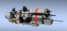 Micro Fleet Comand Ship   Flickr - Photo Sharing!