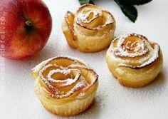 TRANDAFIRI DIN MERE SI FOIETAJ Cheesecake, Muffin, Sweets, Cookies, Breakfast, Desserts, Food, Pie, Chocolates