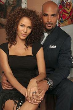Boris Kodjoe and Nicole Ari Parker as Jackson and Ryan Muse on the television series Second Time Around.