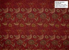 Arts & Crafts... Bird & Anemone by William Morris wallpaper