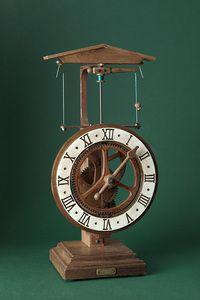 Horloge médiévale de table