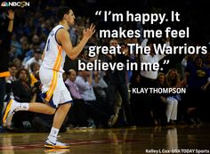 Klay Thompson is excited to still be with Stephen Curry and the Golden State Warriors   http://fb.nbcsports.com/Hlf  #NBCSports