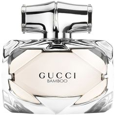 Gucci Bamboo Eau De Toilette- 2.5 oz. ($104) ❤ liked on Polyvore featuring beauty products, fragrance, perfume, makeup, beauty, filler, no color, gucci, perfume fragrance and gucci fragrance