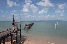 Muelle abandonando en Boh Put, Koh Samui