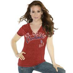 MLB Touch by Alyssa Milano St. Louis Cardinals Women's Kickstart T-Shirt
