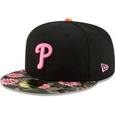 official photos 58818 67a27 Men s Philadelphia Phillies New Era Black Floral Morning 59FIFTY Fitted Hat,  Your Price   33.99