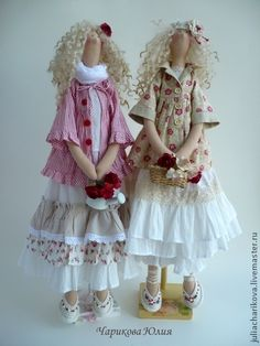 Tildas, just love Tilda dolls, gorgeous