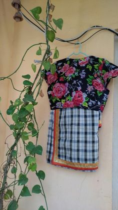 Cotton saree and blouse