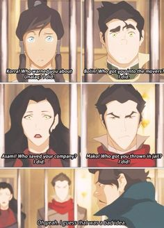 Varrick - I love Mako's face in this whole sequence