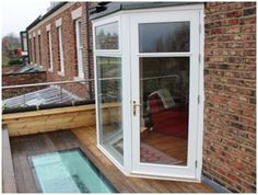 French Window Bay - Blackthorn Timber supplies and installs timber windows, doors & conservatories. Timber Windows, Windows And Doors, Bay Windows, French Windows, French Doors, Timber Supplies, Patio Doors, New Kitchen, Extension Ideas