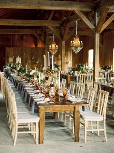 Wedding Table Decorations Candelabra Wood - romantic wedding centerpieces with candles Romantic Wedding Centerpieces, Romantic Wedding Receptions, Simple Centerpieces, Candle Centerpieces, Wedding Table Centerpieces, Wedding Decorations, Centerpiece Ideas, Rustic Weddings, Elegant Wedding