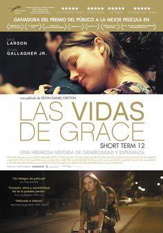 """""""Las vidas de Grace"""" / dirigida por Destin Daniel Cretton: Grace (Brie Larson) es una joven veinteañera que trabaja como supervisora en Short Term 12, un centro de acogida para adolescentes en situación de vulnerabilidad. Le encanta su empleo y vive entregada al cuidado de los chicos. Pero, al mismo tiempo, pesa sobre ella un pasado conflictivo que la llena de angustia..."""