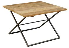 One Kings Lane - July 4th Blowout Sale - Brynn Cocktail Table, Sand