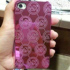 MK iphone case :) it's my brand new phone case