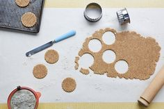 BEE BERRIE - How to makr DIGESTIVE BISCUITS  ::  via Jamieoliver.com