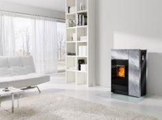 Rika Topo  #KernowFires #rika #stove #woodburner #contemporary #modern #cornwall #freestanding #soapstone #pellets
