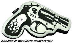 Gun Pillow by HellsBlanketsAU
