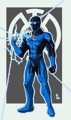 Blue Lantern by HatakeK on DeviantArt Green Lantern Costume, Green Lantern Movie, Blue Lantern Corps, Super Hero Costumes, Comic Books Art, Book Art, Cultura Pop, Dc Universe, Marvel Comics