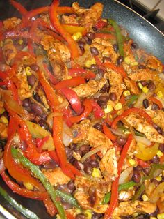 Chicken Fajitas Served 5 Ways- 147 calories - Lose Weight By Eating   with Audrey Johns