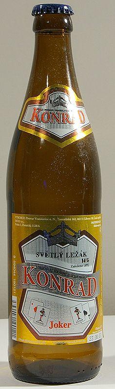 Pivovar Vratislavice - Konrad Joker 6,0% pullo