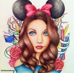 Vivian Wong's drawing of Kristina Webb